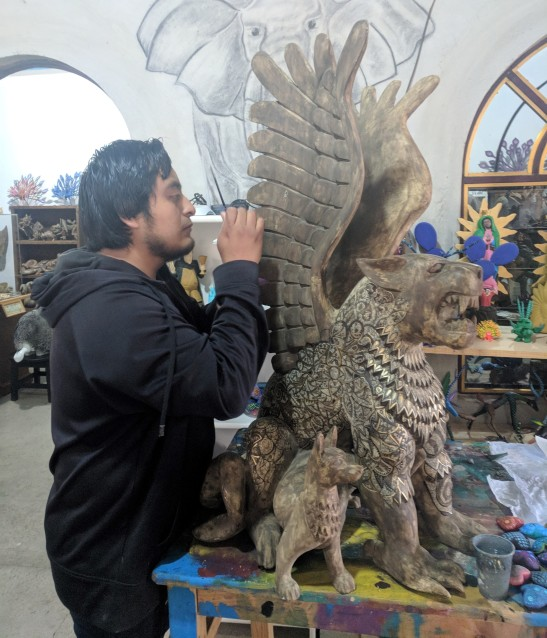 Victor Fabian Ortega studio 2018