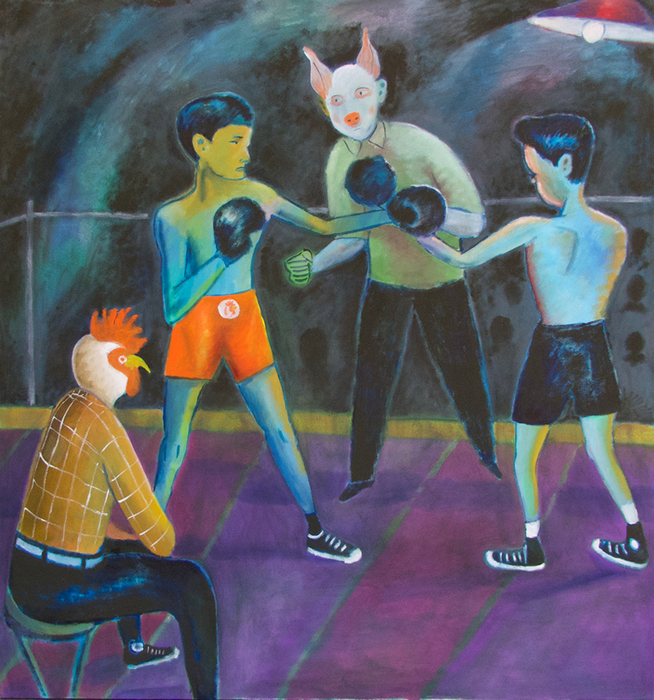 Santiago Cohen_The Fight_Courtesy the artist