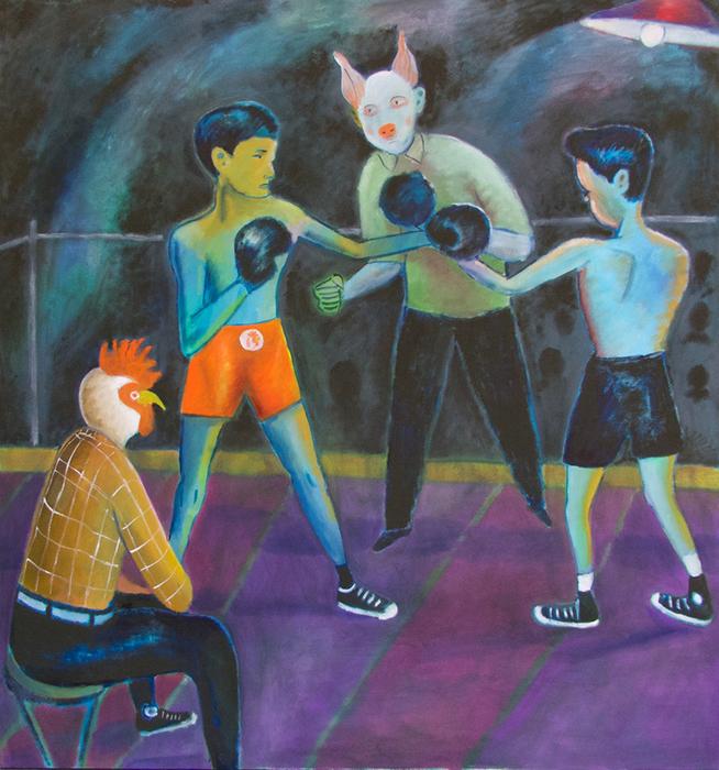 Santiago Cohen_The Fight_Courtesy the artist