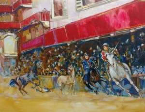 enjoy-alison-winfield-burns_red-palio_oil-on-canvas_36x28