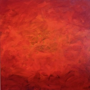 enjoy-ruth-edwy_a-landscape-in-red_oil-on-canvas_24x24